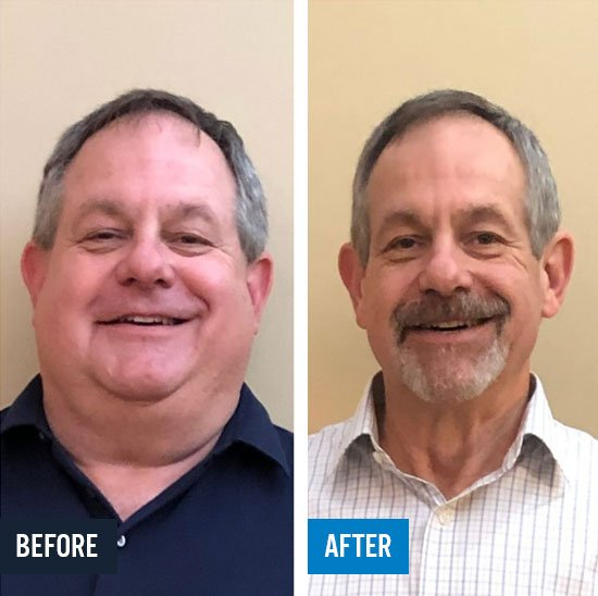 Tony let go of 88 Lbs in 28 weeks!